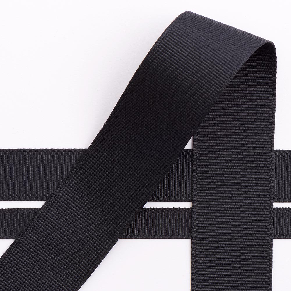 Black Grosgrain Ribbon