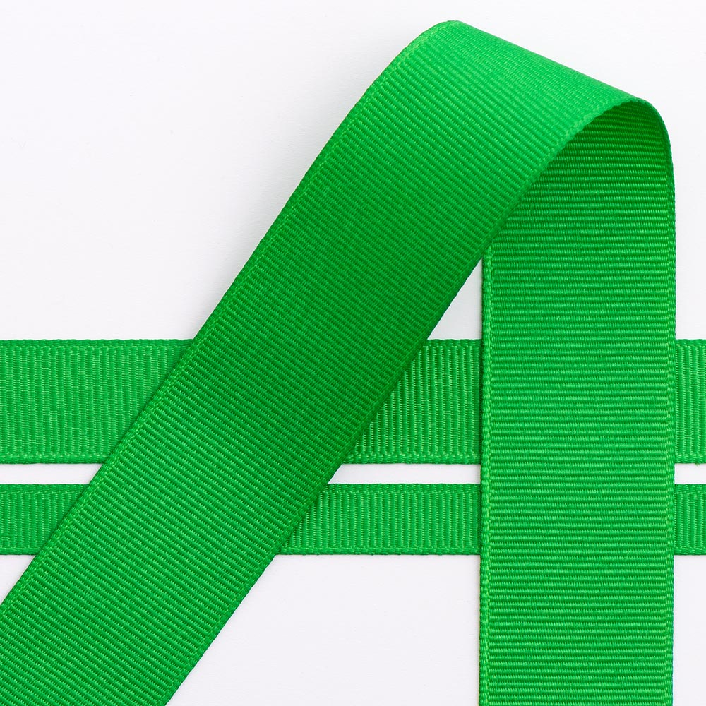 Emerald Grosgrain Ribbon