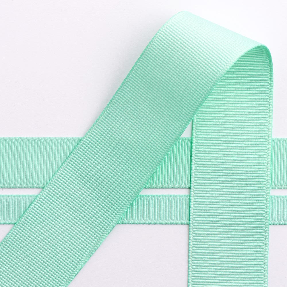 Mint Green Grosgrain Ribbon