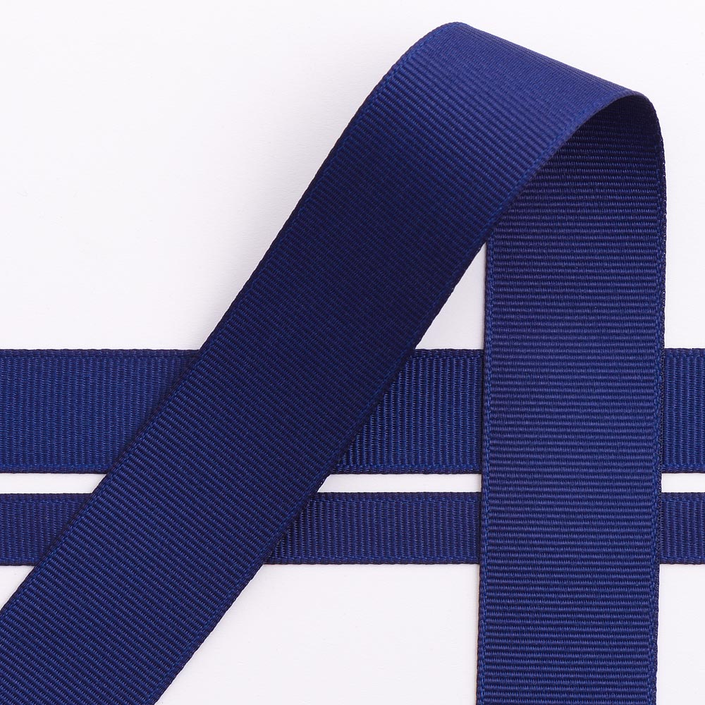 Navy Grosgrain Ribbon