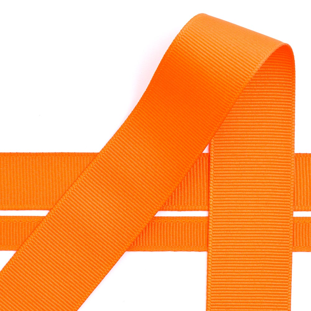 Orange Grosgrain Ribbon