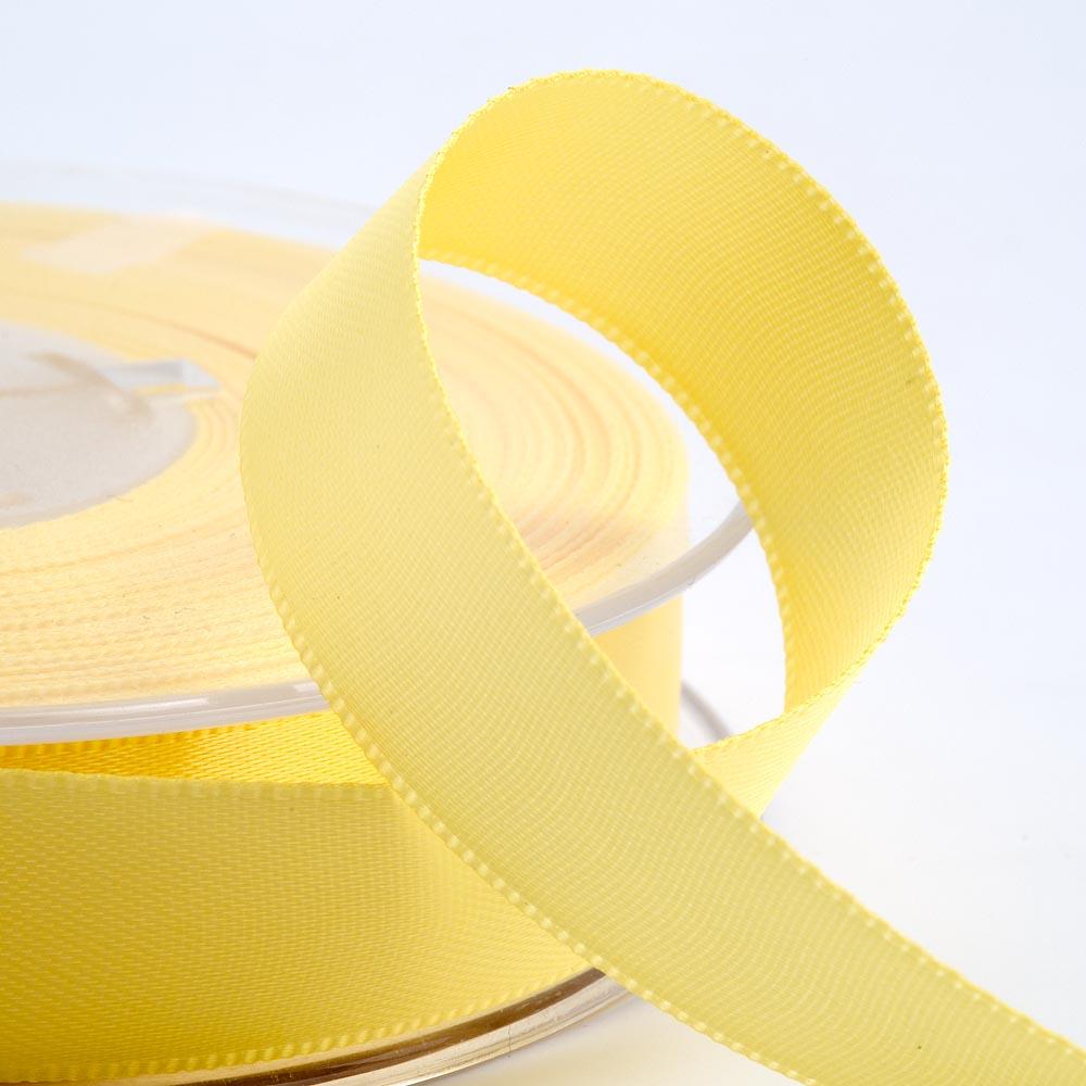 Lemon Yellow Satin Ribbon