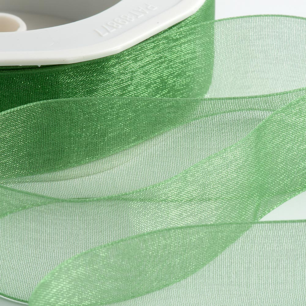 Emerald Green Organza Ribbon