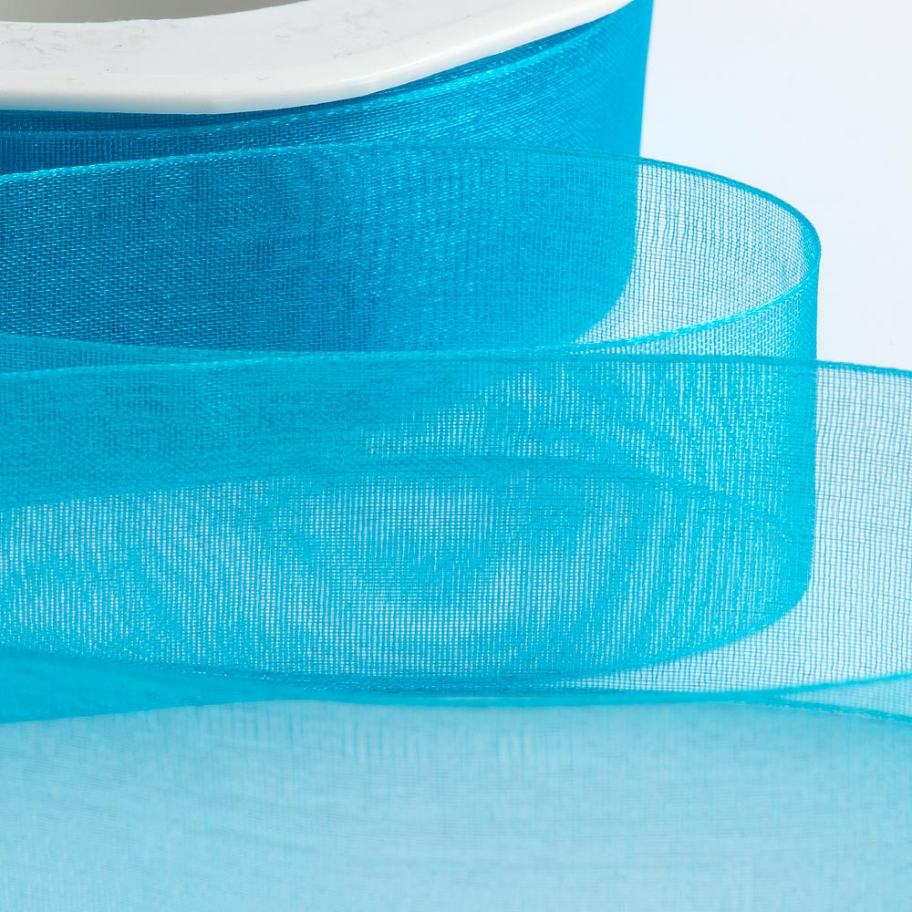 Turquoise Organza Ribbon