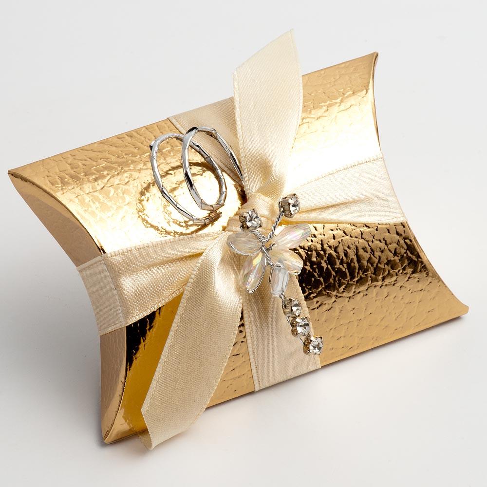 Gold Favour Boxes