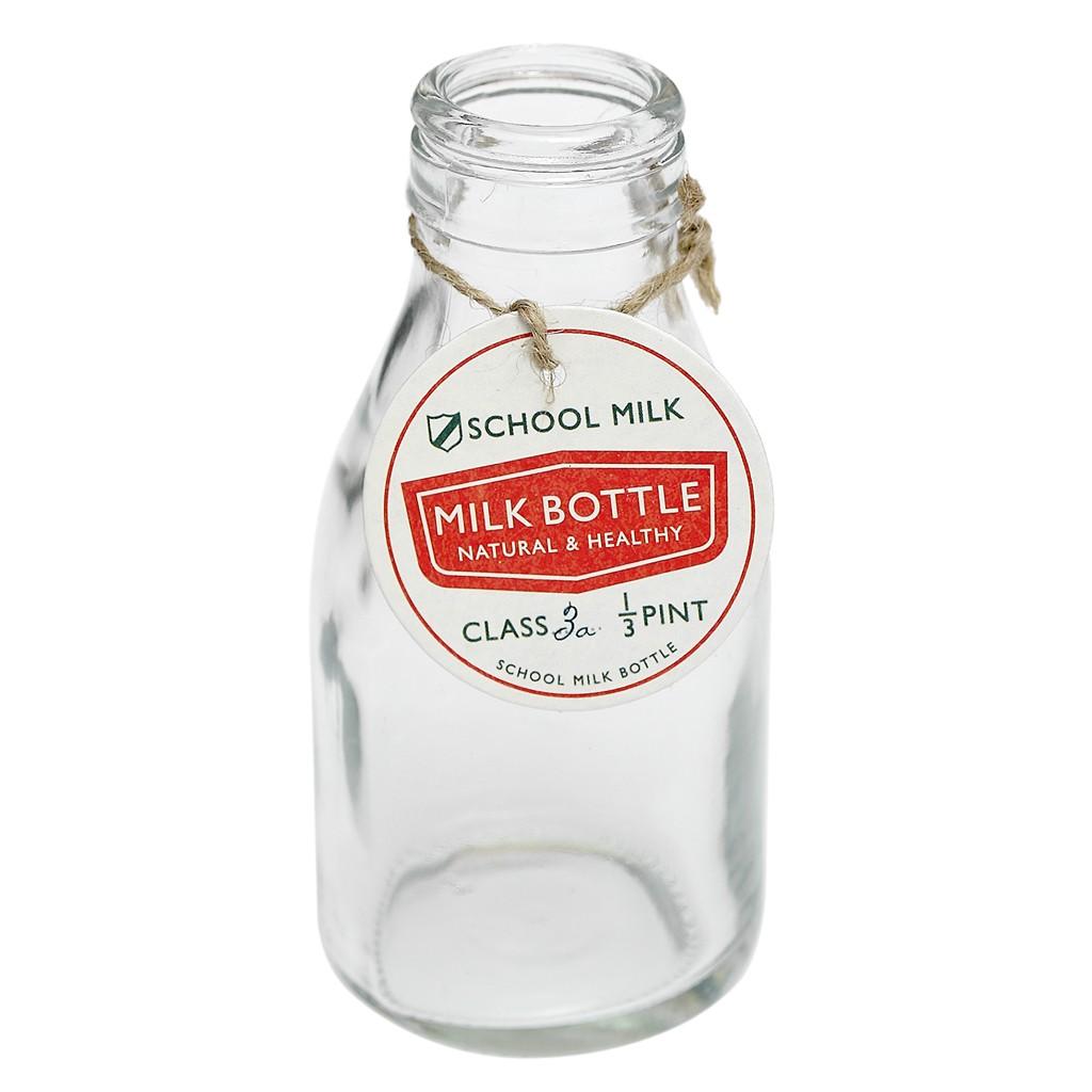 Mini Milk Bottles