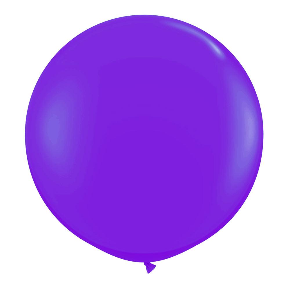 1 Metre Lavender Giant Balloons