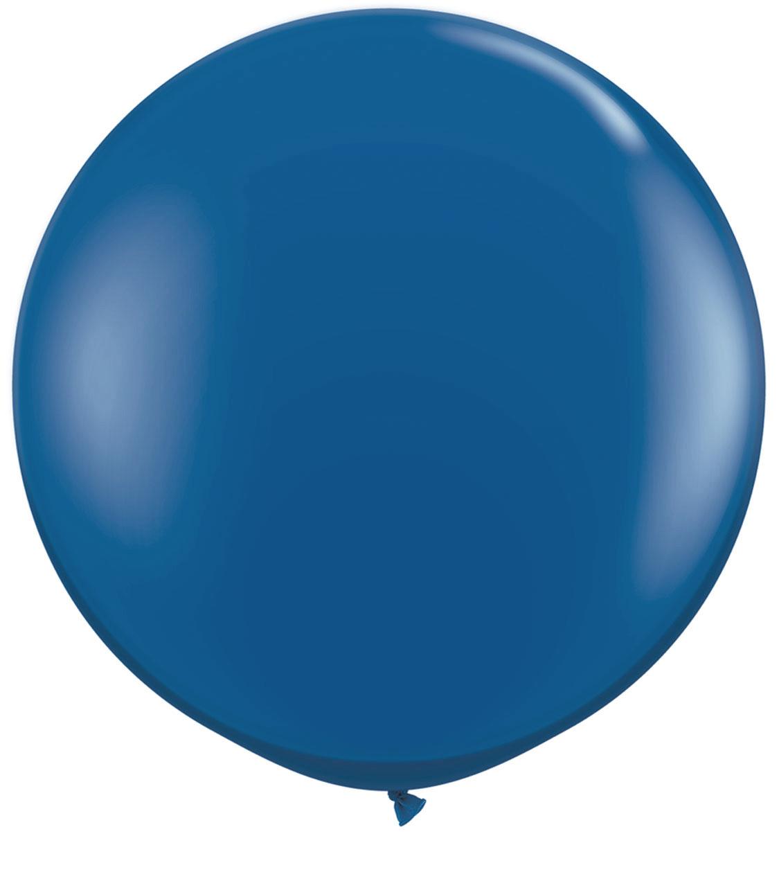 1 Metre Navy Blue Giant Balloons