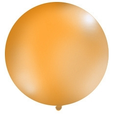 1 Metre Orange Giant Balloons