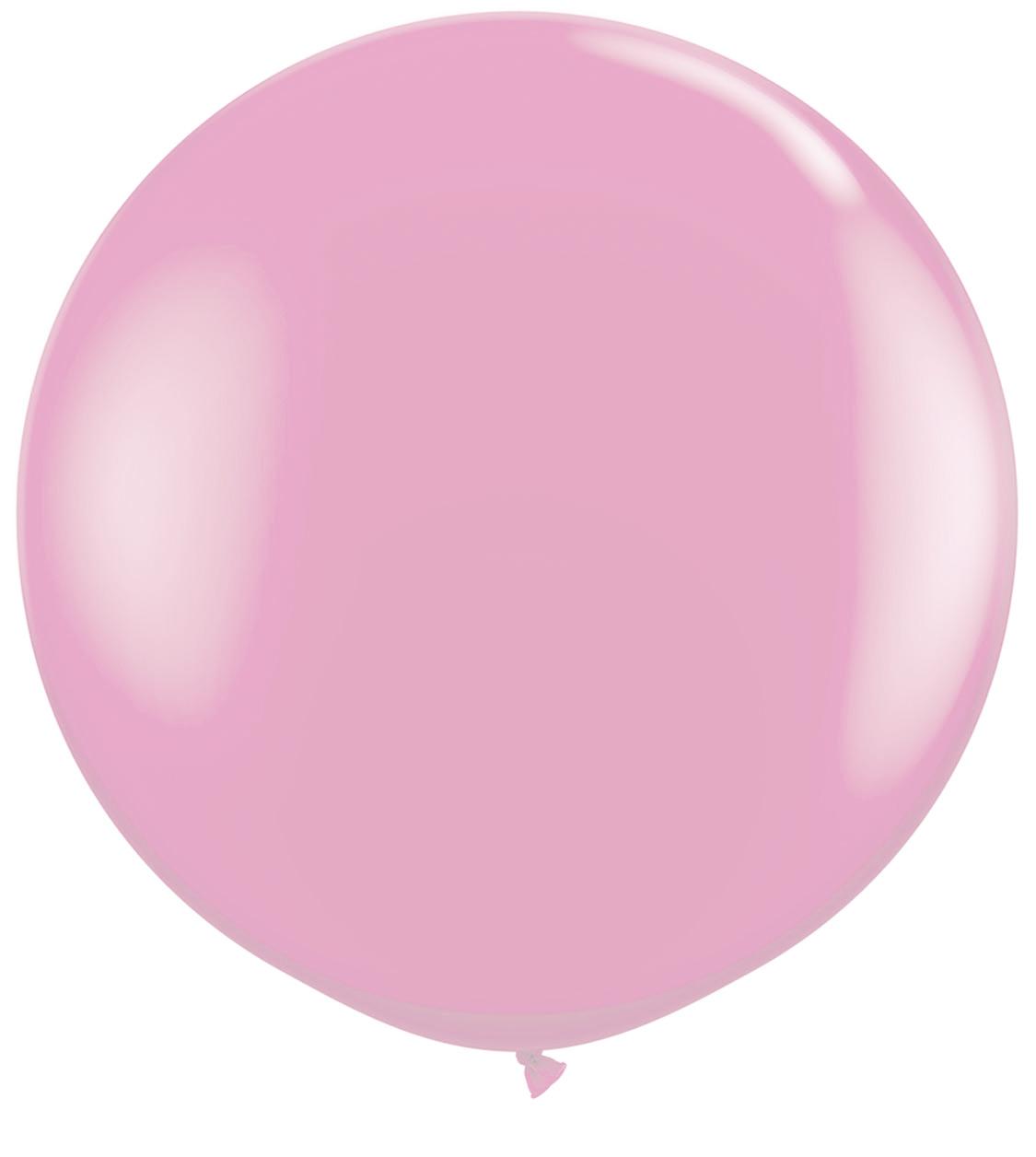 1 Metre Pastel Pink Giant Balloons