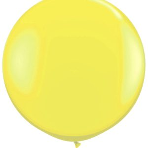 1 Metre Yellow Giant Balloons