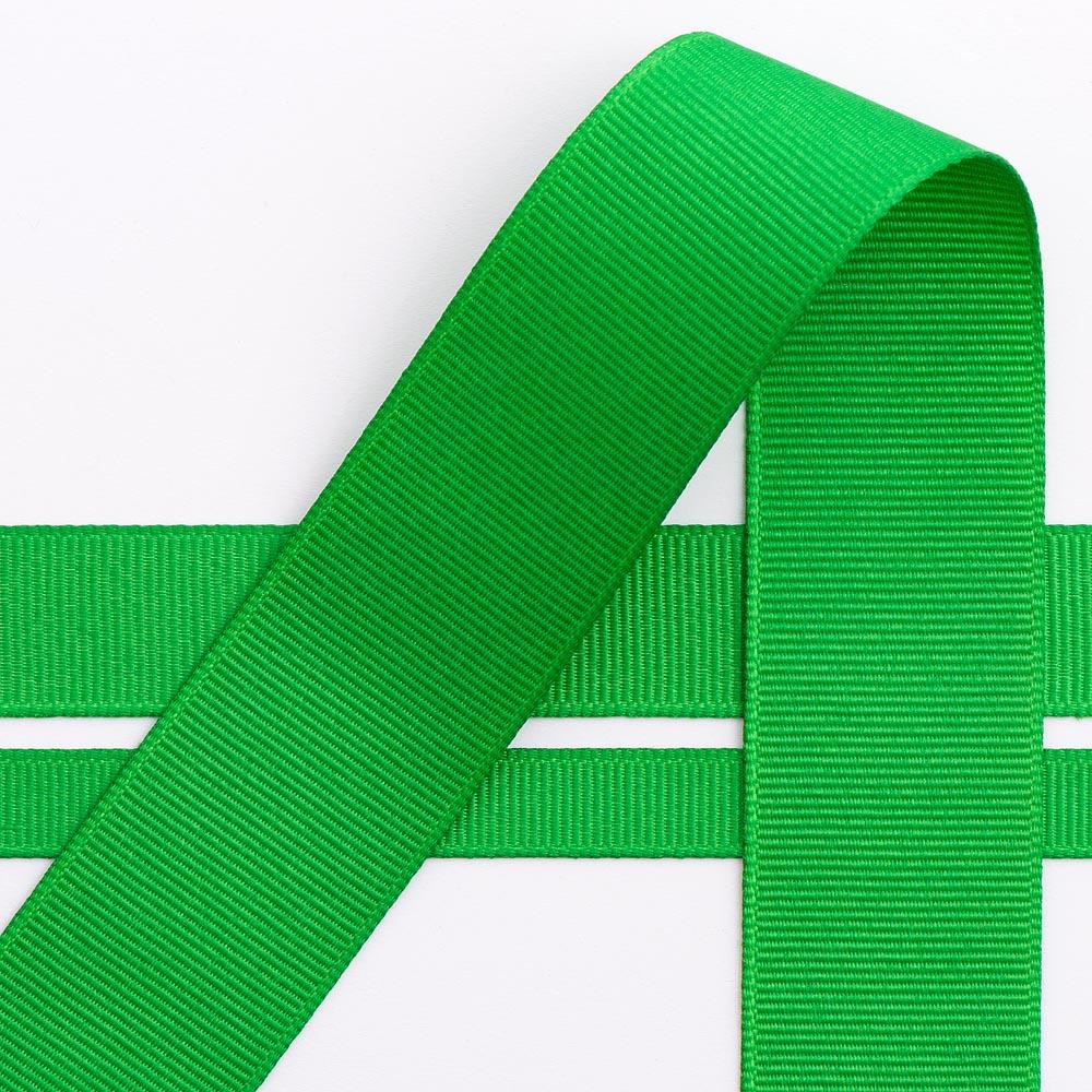 10mm Emerald Grosgrain Ribbon 10M