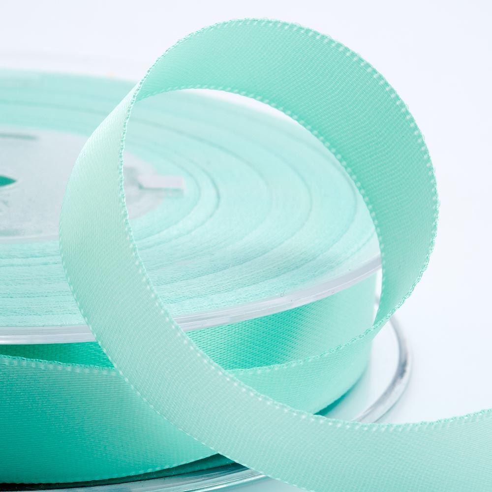 3mm Mint Green Satin Ribbon 50M