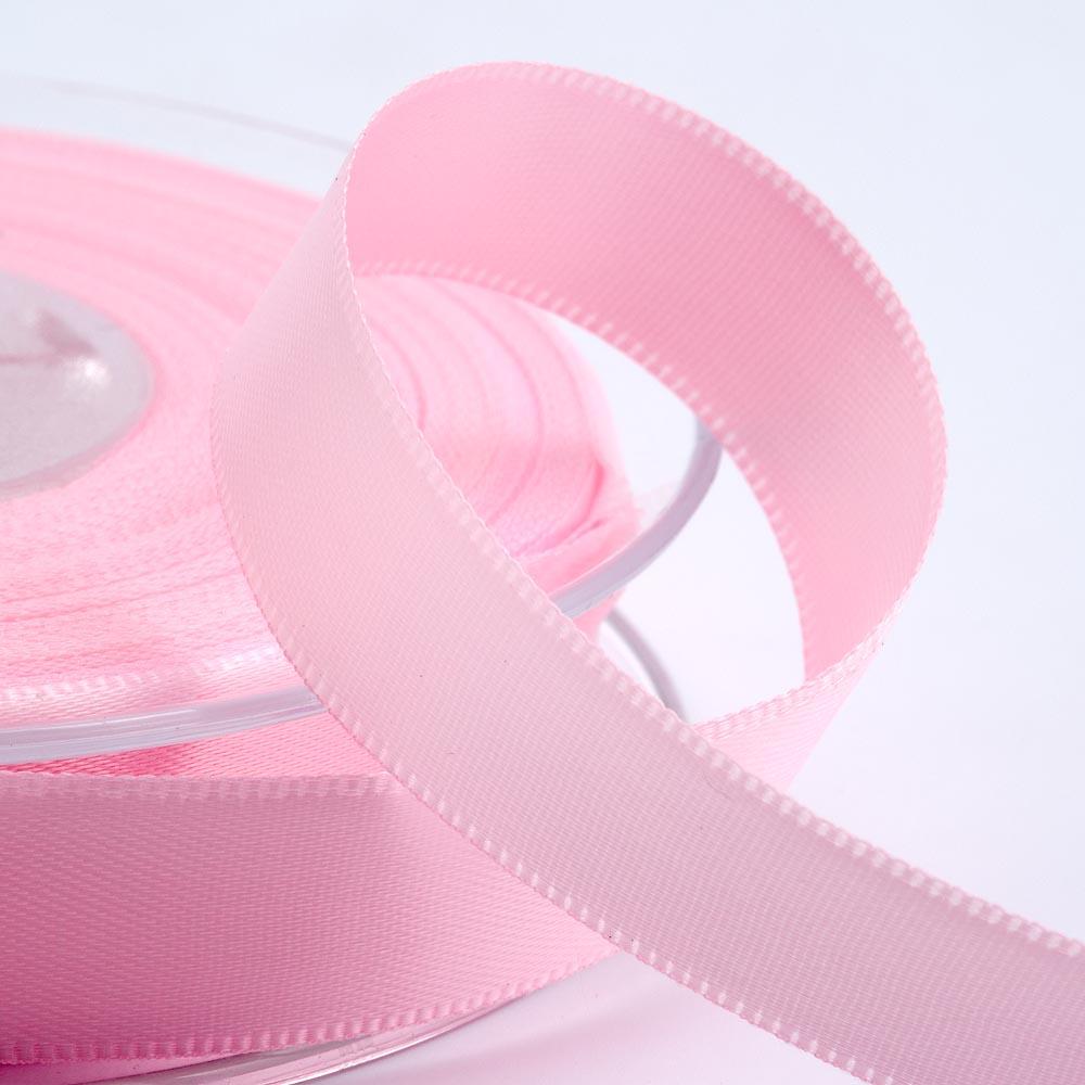 3mm Pale Pink Satin Ribbon 50M