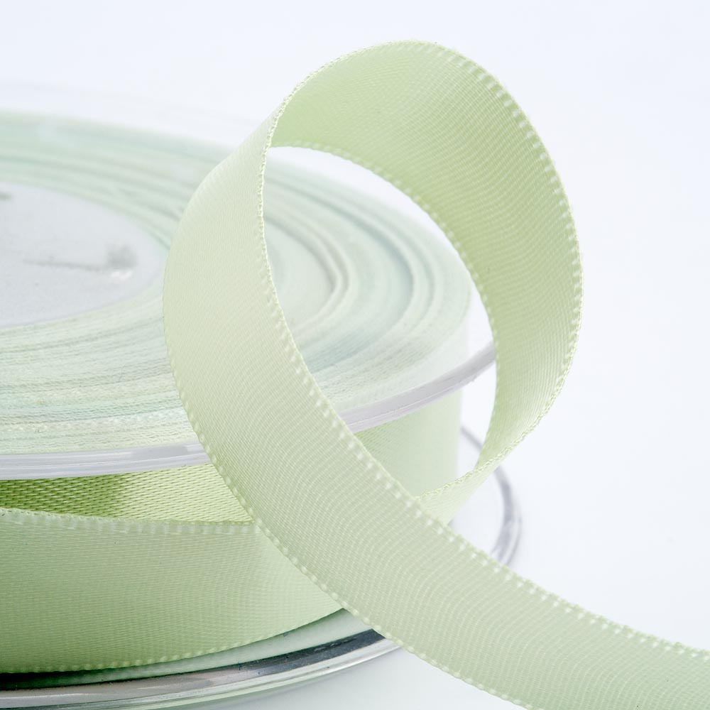 3mm Light Green Satin Ribbon 50M