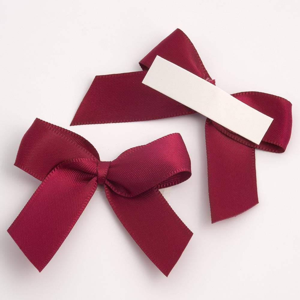 Amethyst Satin Bows 12 Pack