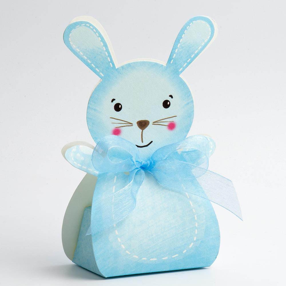 Blue Rabbit Favour Box - Large