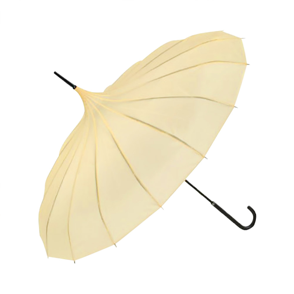 Pagoda Wedding Umbrella - Buttermilk