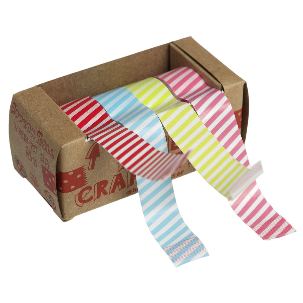Candy Striped Washi Tape