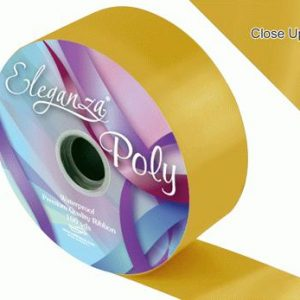Gold Wedding Car Ribbon