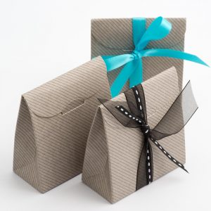 Grey Linea Sacchetto Favour Box