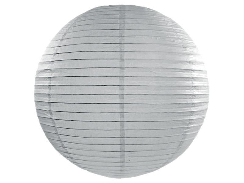 Grey Paper Lanterns 18inch