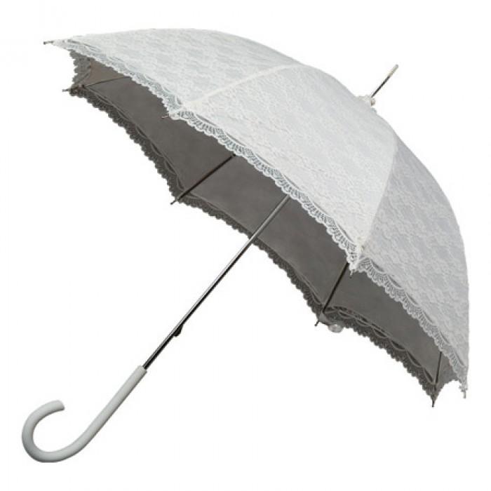 Lace Wedding Umbrellas - Ivory