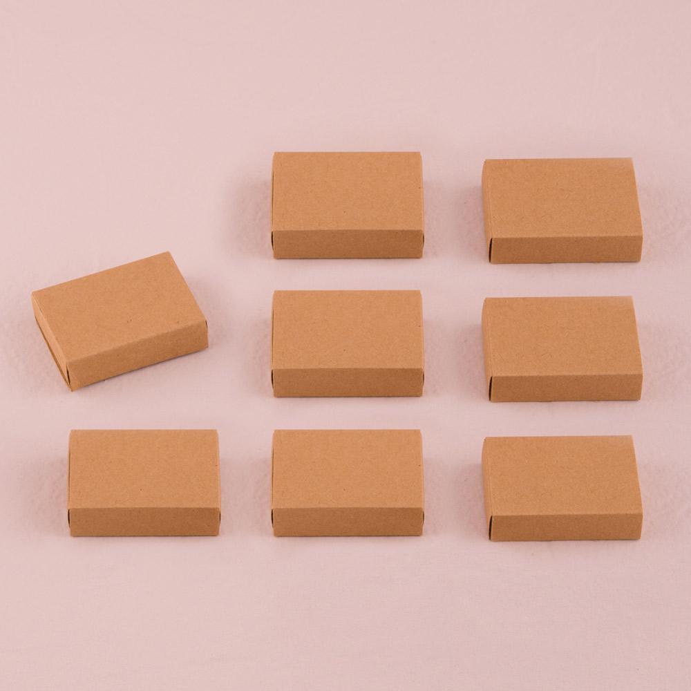 Kraft Matchbox Favour Boxes x 8