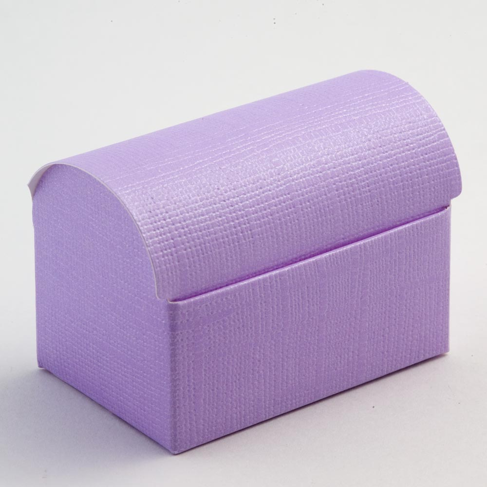 Lilac Silk Cofanetto Favour Box