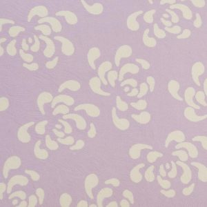 Mauve Vintage Pattern Scalloped Edge Favour Box