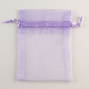 Medium Lilac Organza Favour Bag