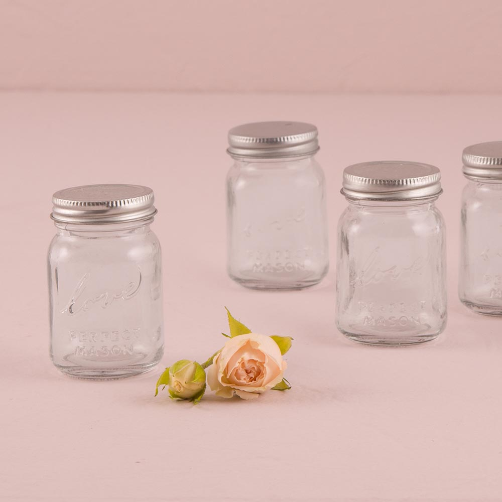 Mini 'Love' Mason Jar