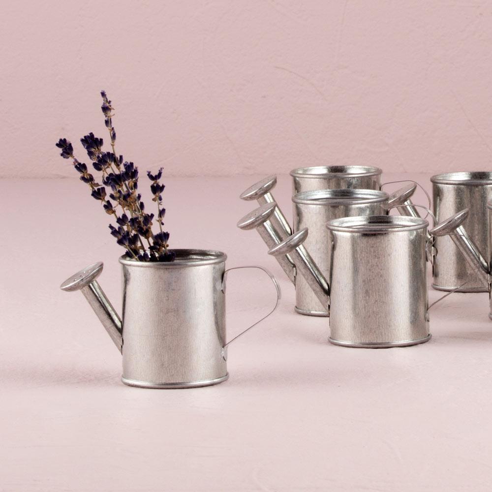 Mini Metal Watering Cans x 12