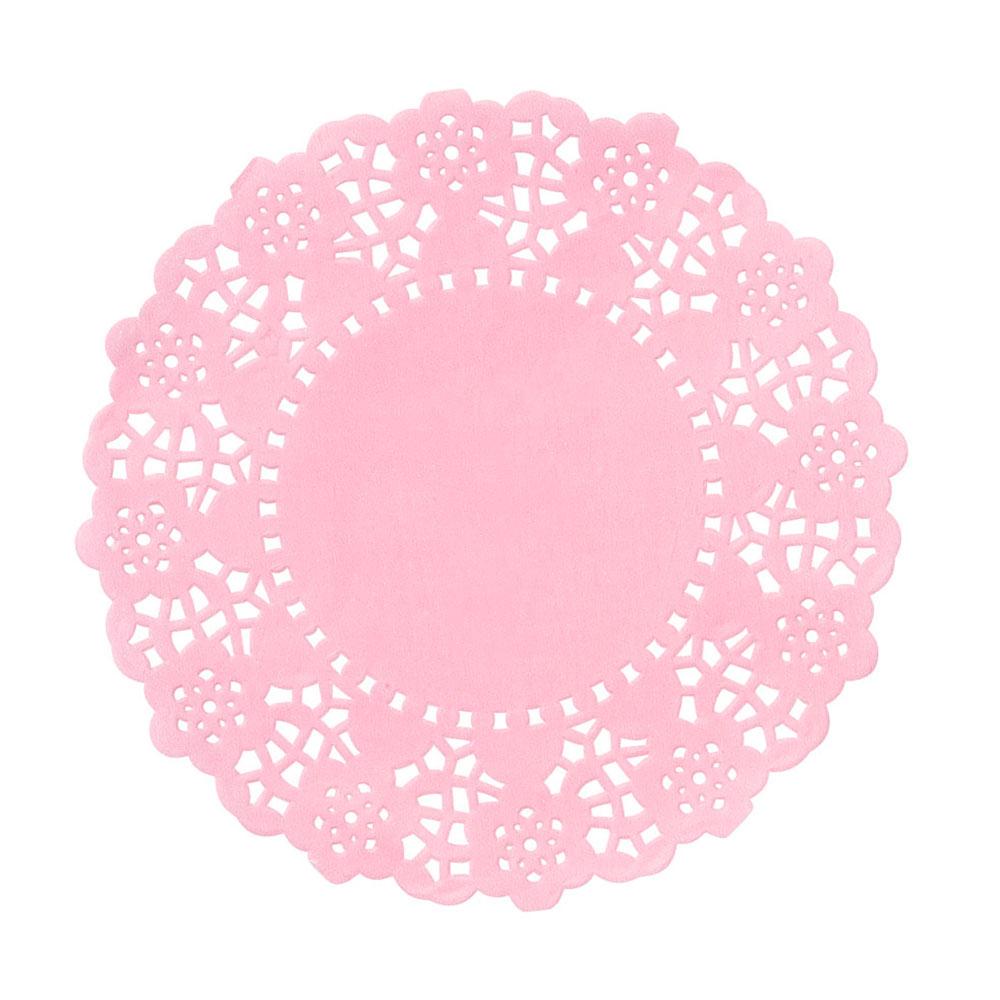 Mini Pink Doilies