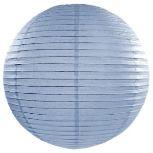 Misty Blue Paper Lanterns 18inch