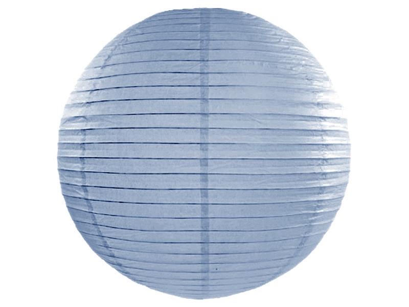 Misty Blue Paper Lanterns 18inch