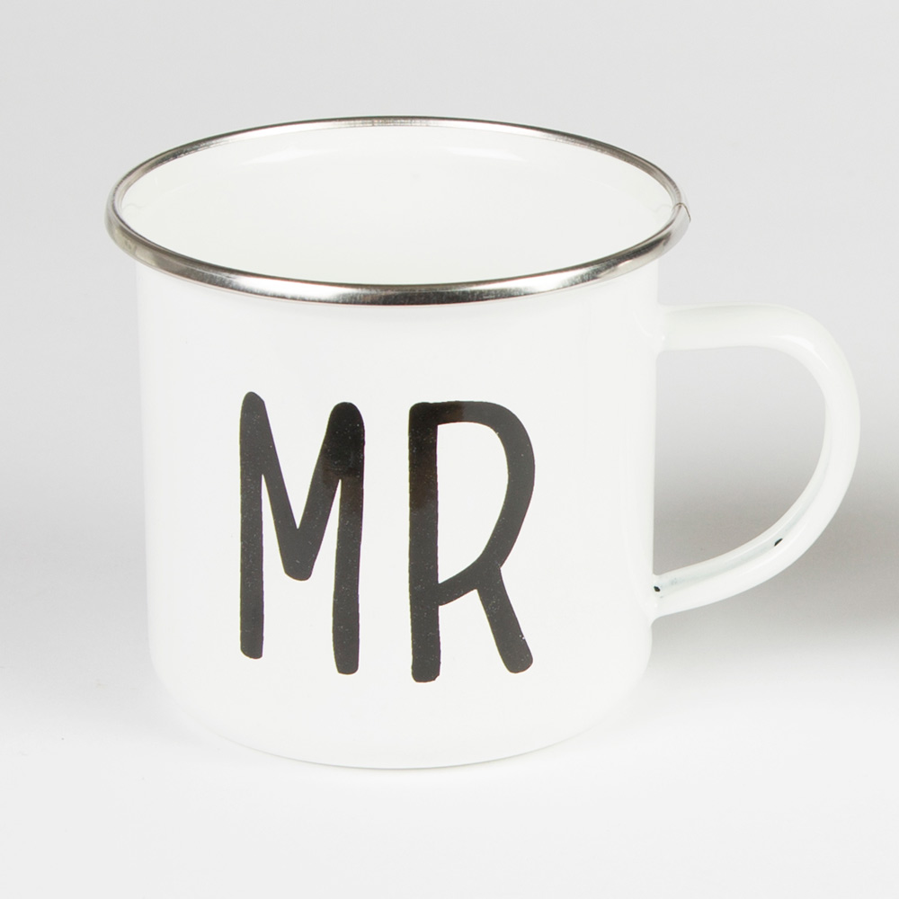 Mr Enamel Mug