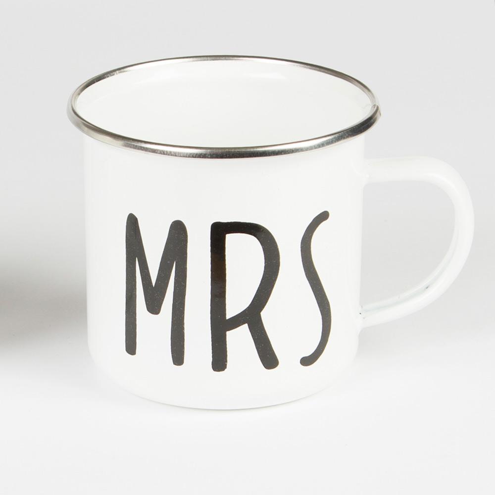 Mrs Enamel Mug