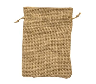 Natural Hessian Bags 5 pack - 12 x 17cm