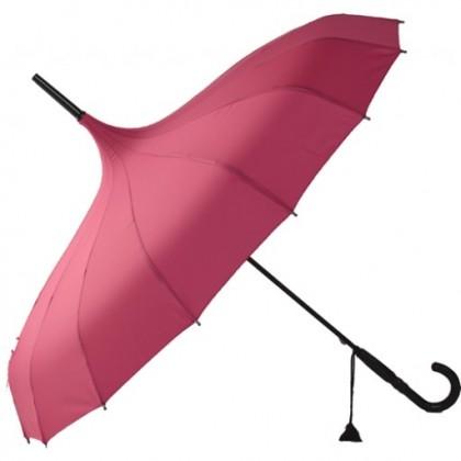 Oriental Pink Pagoda Umbrellas