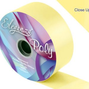Pale Yellow Wedding Car Ribbon