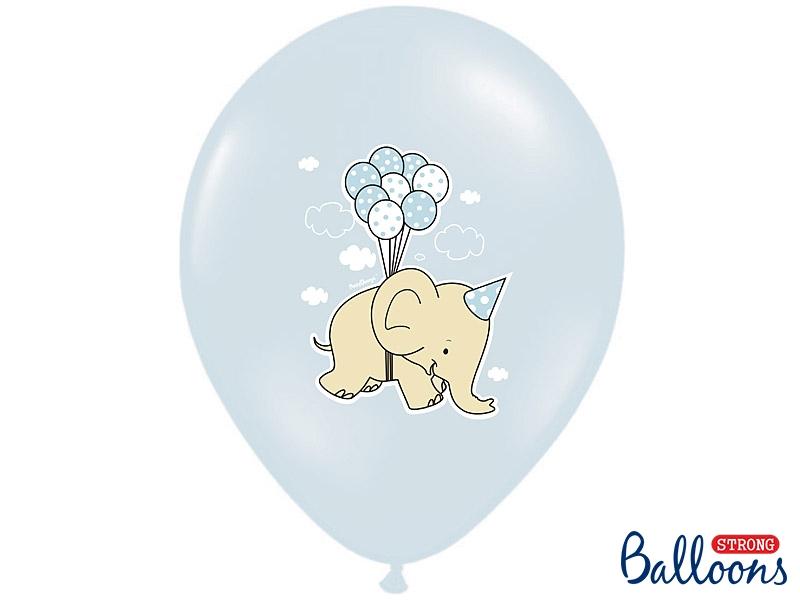 Pastel Blue Nellie Balloons