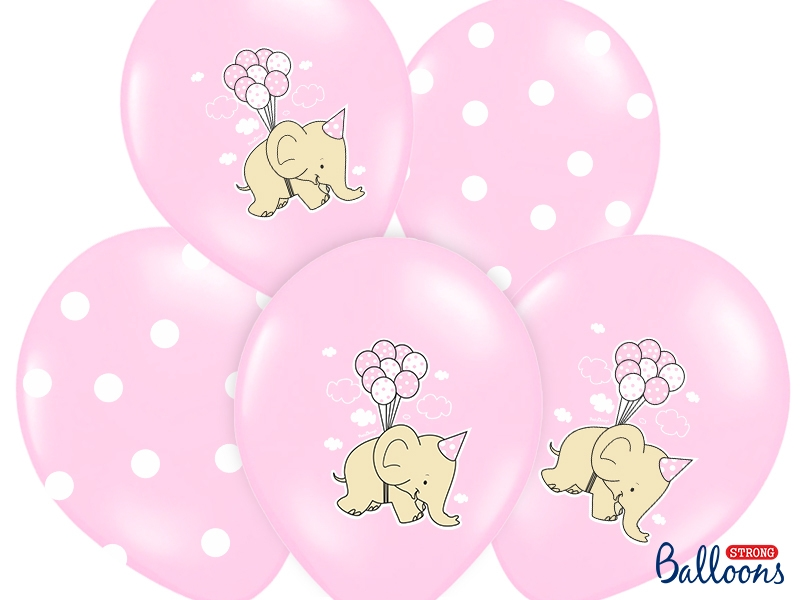 Pastel Pink Nellie Balloons