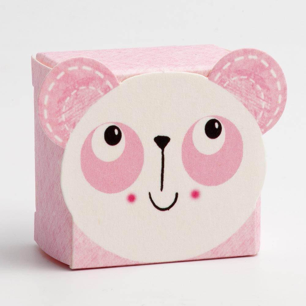 Pink Panda Favour Box - Small