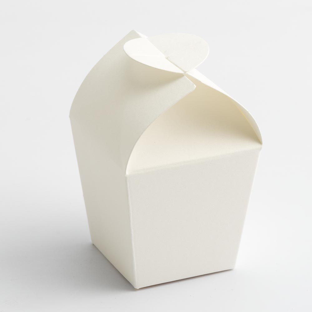 Powder White Mini Favour Box