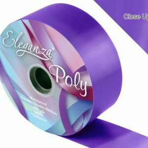 Purple Wedding Car Ribbon