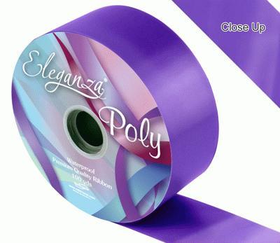Purple Wedding Car Ribbon