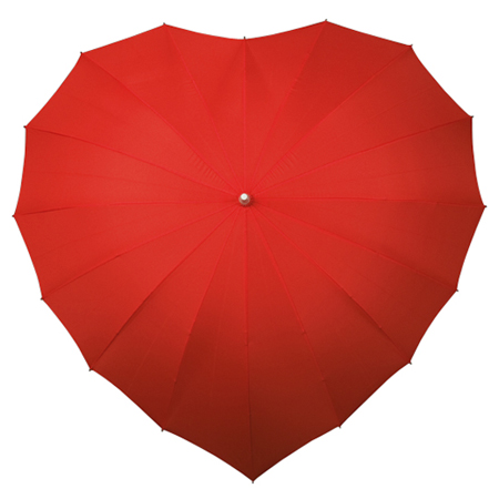 Heart Umbrellas - Red