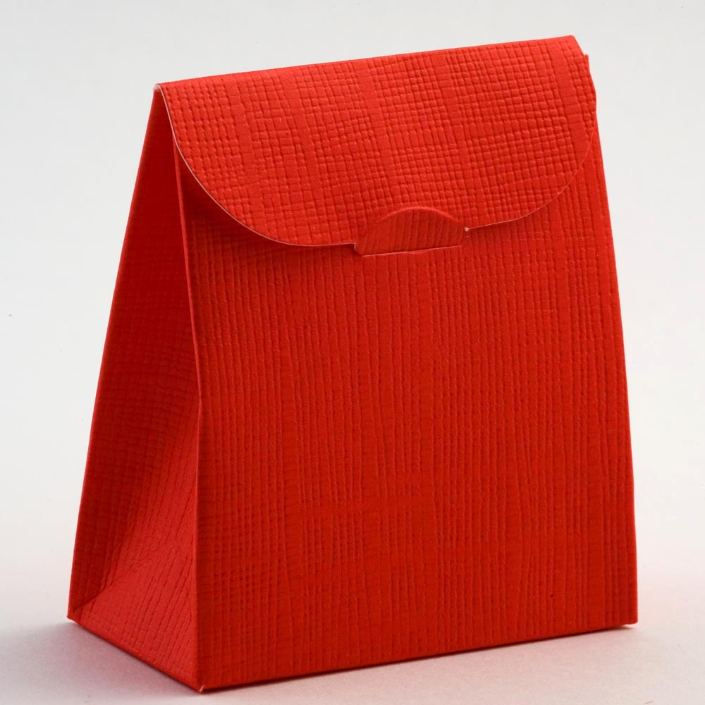 Red Silk Sacchetto Favour Box