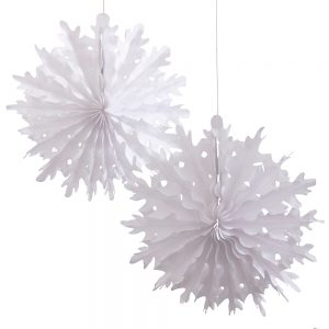 Snowflake Paper Decorations